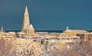 Reykjavik im Winter Foto: Inspired by Iceland - ICELAND.IS