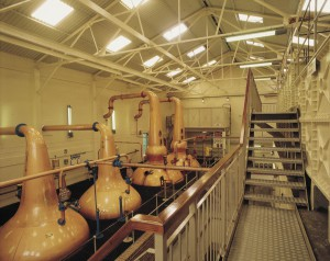 Talisker Whisky-Brennerei Foto: Scottish Viewpoint