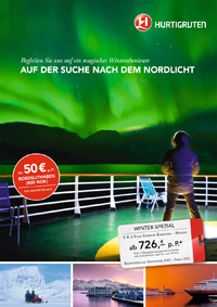 Hurtigruten Winter Sonderangebot 2013